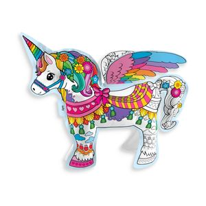 UNICORNIO HINCHABLE PARA COLOREAR OOLY 3D COLORABLE DIY MAGICAL UNICORN