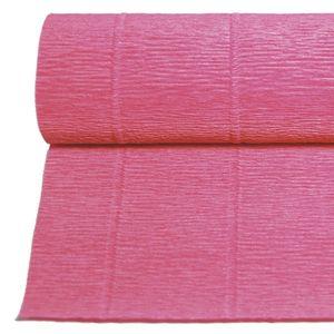 PAPEL CRESPON CREPE PLIEGO DE 0,5 X 2,5 M. ROSA