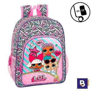 MOCHILA 42CM SAFTA ADAPTABLE A CARRO LOL SURPRISE 611920180