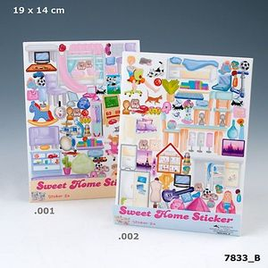 SWEET HOME STICKER DEPESCHE 7833