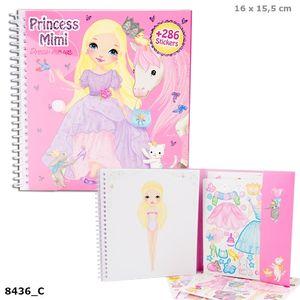 LIBRO PEGATINAS PRINCESS MIMI STICKER BOOK DRESS ME UP STYLE PRINCESS DEPESCHE 8436