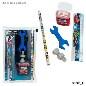 SET ESCRITURA MONSTER CARS DEPESCHE 5132