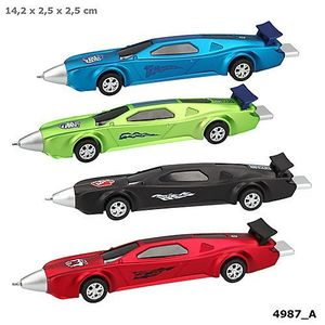 BOLIGRAFO RETRACTIL CON FORMA DE COCHE MONSTER CARS DEPESCHE 4987