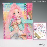 LIBRO COLOREAR SPECIAL DESIGN BOOK + VIDEO YOU TUBE TOP MODEL DEPESCHE 3043