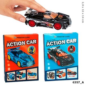 ROMPECABEZAS PEQUEÑO BUILD YOUR ACTION CAR CONSTRUYE TU COCHE MONSTER CARS 3D DEPESCHE 6357