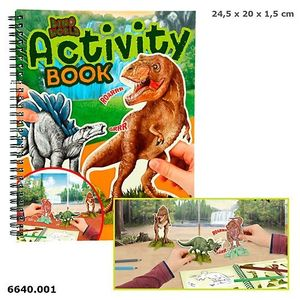 ACTIVITY BOOK LIBRO DE ACTIVIDADES DINO WORLD DEPESCHE 6640