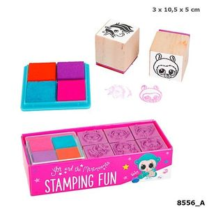 SET 6 MINI SELLOS STAMPING FUN YLVI AND THE MINIMOOMIS DEPESCHE 8556