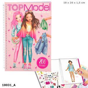 CUADERNO TOP MODEL DRESS ME UP TROPICAL DEPESCHE 10031