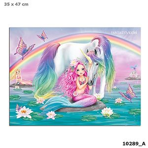 VADE ESCRITORIO ALFOMBRILLA TOP MODEL FANTASY MODEL 3D MERMAID SIRENA DEPESCHE 10289