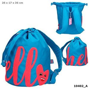 BOLSA SACO HELLO AZUL TOP MODEL  DEPESCHE 10402
