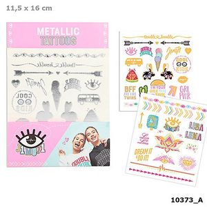 TATUAJES METALICOS TOP MODEL METALLIC TATTOOS LISA AND LENA COLLECTION J1MO71 DEPESCHE 10373