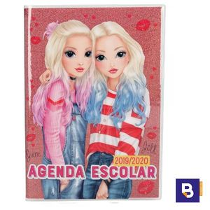 AGENDA ESCOLAR 2019/20 TOP MODEL SEMANA VISTA ROSA PURPURINA DEPESCHE 3410485