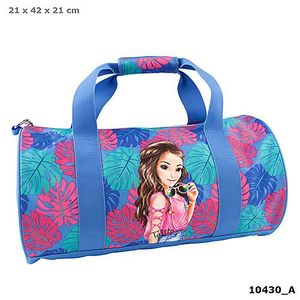 BOLSA DEPORTE SUMMER VERANO TROPICAL AZUL TOP MODEL DEPESCHE 10430