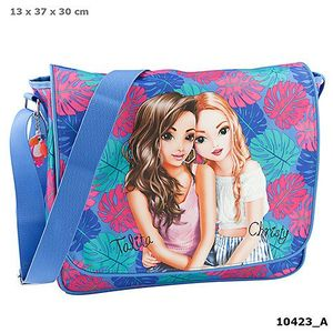 BOLSA BANDOLERA SUMMER VERANO TROPICAL AZUL TOP MODEL DEPESCHE 10423