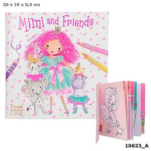 CUADERNO PARA COLOREAR PRINCESS MIMI AND FRIENDS DEPESCHE 10623 ANIMALES