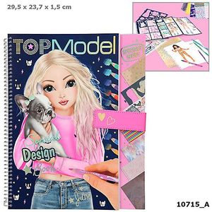 CUADERNO COLOREAR SPECIAL DESIGN BOOK DEPESCHE TOP MODEL 10715
