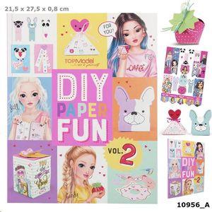 DIY PAPER FUN BOOK TOP MODEL REF 10956_A