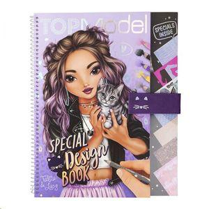LIBRO PARA COLOREAR TOP MODEL SPECIAL DESIGN BOOK 11253_A