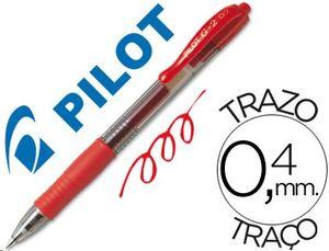 ROTULADOR PILOT G-2 0,7 ROJO