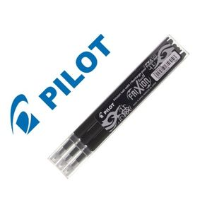 PACK 3 RECAMBIOS PARA BOLIGRAFO PILOT FRIXION 0,7 NEGRO