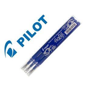 PACK 3 RECAMBIOS PARA BOLIGRAFO PILOT FRIXION 0,7 AZUL