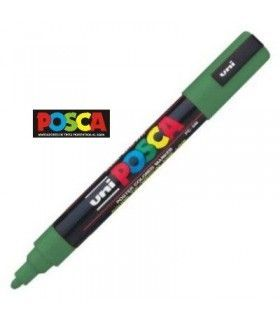 ROTULADOR UNI BALL POSCA VERDE PC-5M