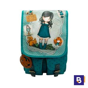 MOCHILA CON BOLSILLOS GORJUSS SANTORO YOU BROUGHT ME LOVE 652GJ01