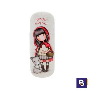 FUNDA DE GAFAS RIGIDA GORJUSS LITTLE RED RIDING HOOD SANTORO 344GJ27
