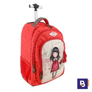 MOCHILA TROLLEY GORJUSS CON CARRO TIME TO FLY SANTORO 480GJ08