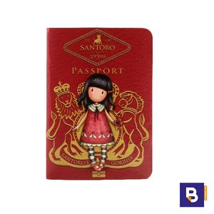 CUADERNO PASSPORT GORJUSS TIME TO FLY SANTORO 814GJ02
