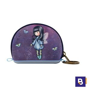 MINI MONEDERO PEQUEÑO GORJUSS CON LLAVERO BUBBLE FAIRY HADA SANTORO LONDON 369GJ27