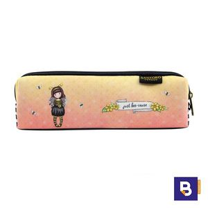 PORTATODO ESTRECHO ESTUCHE NEOPRENO GORJUSS BEE LOVED JUS BEE CAUSE SANTORO LONDON 884GJ01