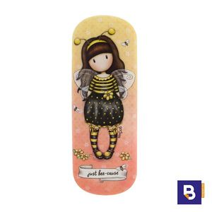 FUNDA DE GAFAS RIGIDA GORJUSS BEE LOVED JUST BEE CAUSE SANTORO LONDON 344GJ29