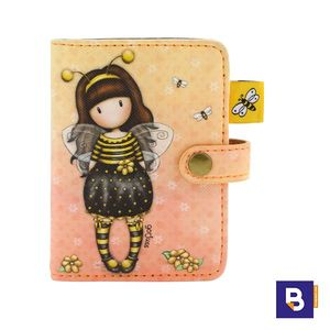 TARJETERO GORJUSS BEE LOVED JUST BEE CAUSE ABEJA SANTORO LONDON 583GJ07