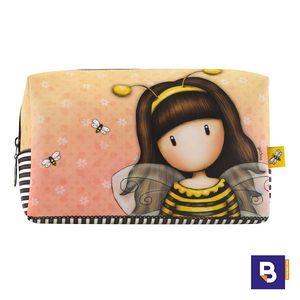NECESER GRANDE GORJUSS BEE LOVED JUST BEE CAUSE ABEJA SANTORO LONDON 892GJ01