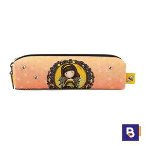 PORTATODO ESTUCHE GORJUSS BEE LOVED JUST BEE CAUSE ABEJA SANTORO LONDON 894GJ01