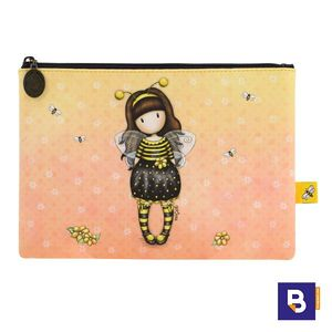 PORTATODO FUNDA ESTUCHE GORJUSS BEE LOVED JUST BEE CAUSE ABEJA SANTORO LONDON 895GJ01
