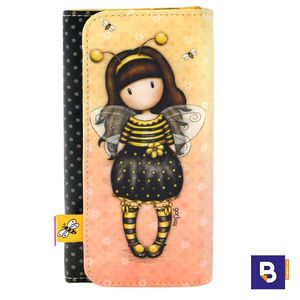 BILLETERA GRANDE MONEDERO GORJUSS BEE LOVED JUST BEE CAUSE ABEJA SANTORO LONDON 341GJ16