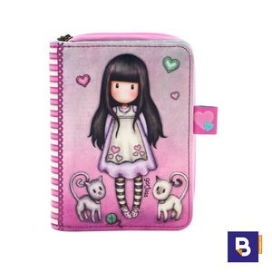 BILLETERA MONEDERO GORJUSS TALL TAILS GATITOS SANTORO LONDON 903GJ01