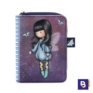 BILLETERA MONEDERO GORJUSS BUBBLE FAIRY HADA SANTORO LONDON 903GJ02