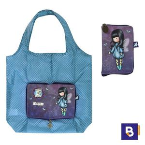 BOLSA PLEGABLE SHOPPING BAG GORJUSS BUBBLE FAIRY HADA SANTORO LONDON 308GJ24