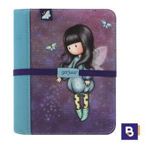 DIARIO DE VIAJE AGENDA GORJUSS BUBBLE FAIRY HADA SANTORO LONDON 256GJ04