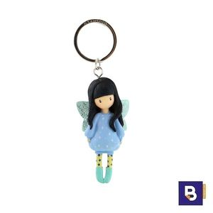 LLAVERO MUÑECA GORJUSS BUBBLE FAIRY SANTORO LONDON 631GJ09