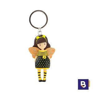 LLAVERO MUÑECA GORJUSS BEE LOVED JUST BEE CAUSE SANTORO LONDON 631GJ10