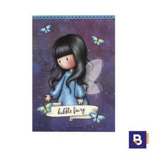 BLOC TACO DE NOTAS GORJUSS BUBBLE FAIRY HADA SANTORO LONDON 910GJ03