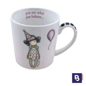 TAZA PEQUEÑA GORJUSS PIERROT SANTORO LONDON 82.036.62568.0 YOU ARE WHAT YOU BELIEVE 932GJ03