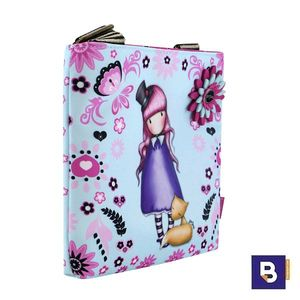 BOLSO BANDOLERA BOLSITO PEQUEÑO GORJUSS FIESTA THE DREAMER SANTORO LONDON 386GJ18