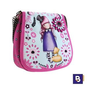 BOLSITO BANDOLERA BOLSO PEQUEÑO GORJUSS FIESTA THE DREAMER SANTORO LONDON 563GJ08