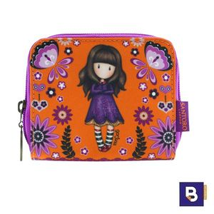 CARTERA MONEDERO GORJUSS FIESTA COBWEBS SANTORO LONDON 928GJ01