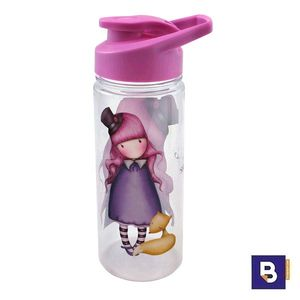 BOTELLA DE PLASTICO CANTIMPLORA GORJUSS FIESTA THE DREAMER SANTORO LONDON 954GJ01